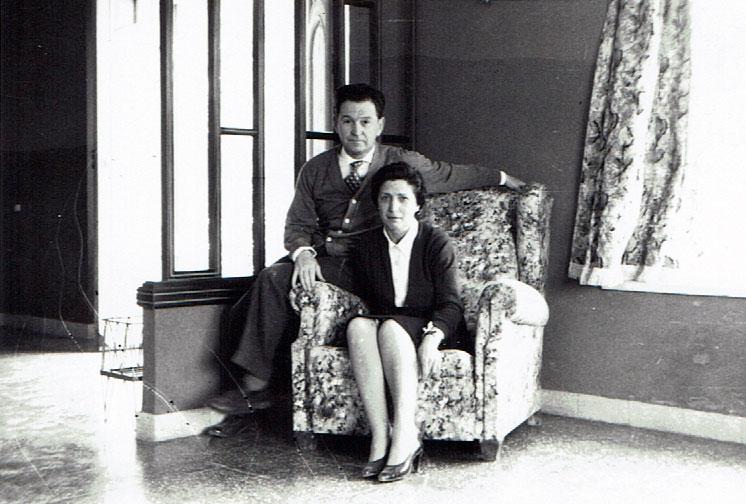 Don José Rodrigo y Doña Carmen Orts