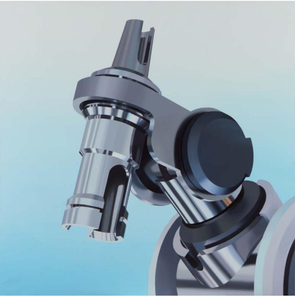 XII - Tania Blanco. Robot Bite. Acrílico sobre tela 150x150
