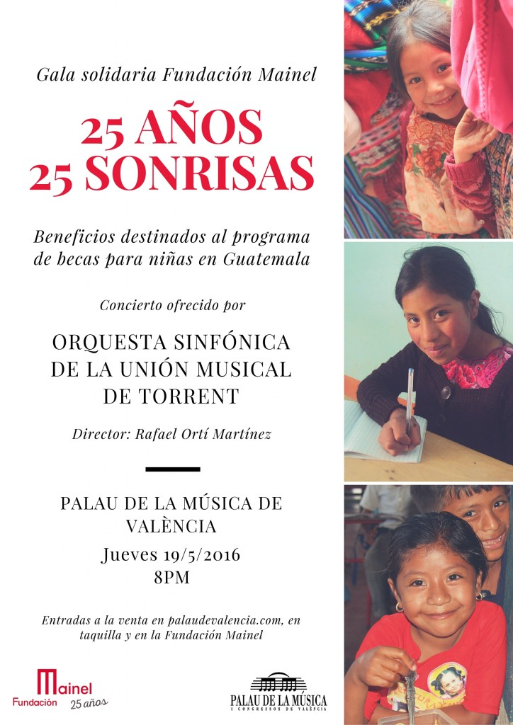 Concierto solidario 25 aniversario