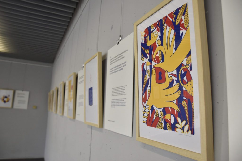 Exposición ODS Miradas desde la ilustración