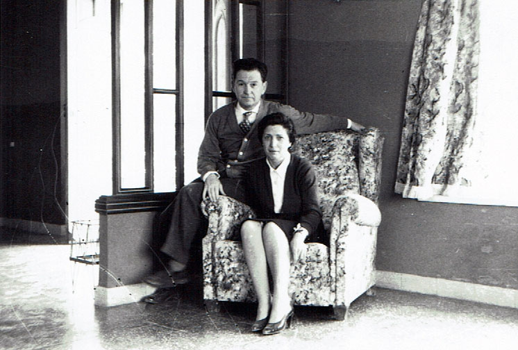 Don José Rodrigo and Doña Carmen Orts, founders of Mainel