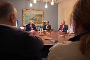 La hora Azul. Leopoldo López, Presidente Cuerpo Consular de Valencia