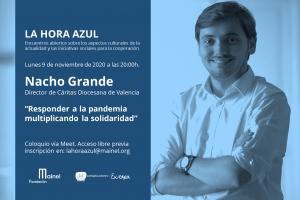 La Hora Azul con Nacho Grande, director de Cáritas Diocesana de Valencia