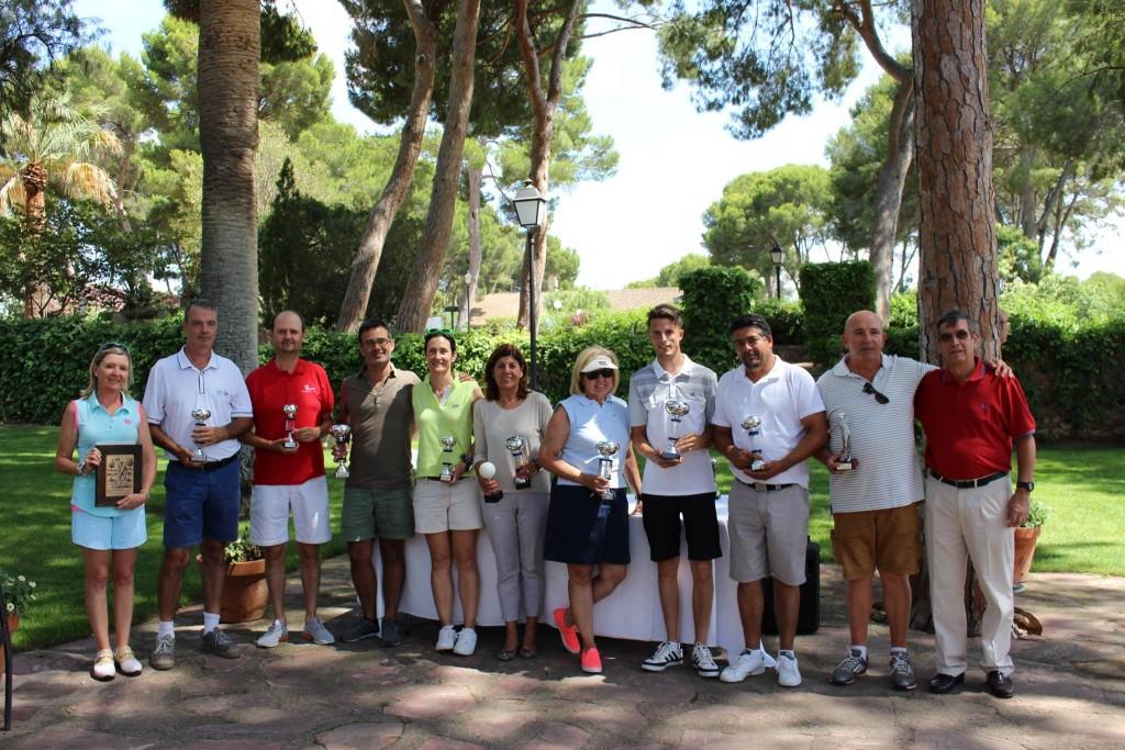 Ganadores VII Torneo Solidario Fundación Mainel - Club Escorpión